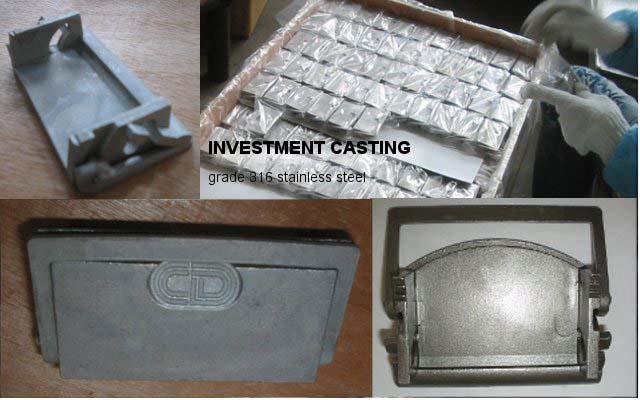 Investment casting | lost wax casting | die casting | Jinlogic Ltd